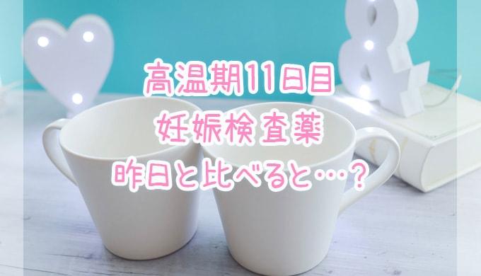 妊娠検査薬_高温期11日目
