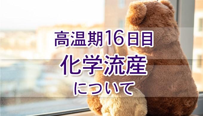高温期16日目_妊娠検査薬